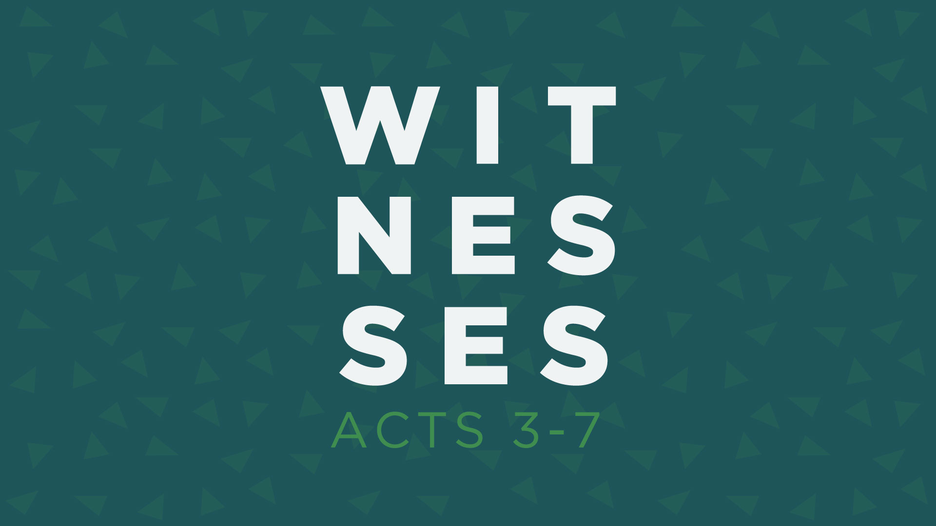 Are You A Witness?